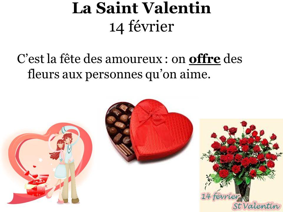 La Saint Valentin 14 février