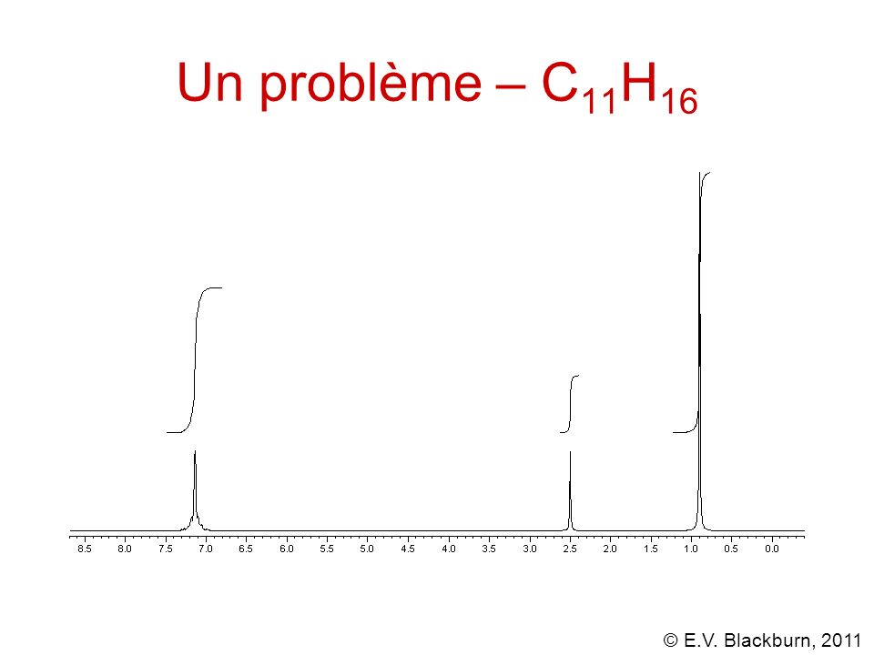 Un problème – C11H16