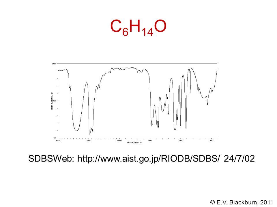 C6H14O SDBSWeb: http://www.aist.go.jp/RIODB/SDBS/ 24/7/02