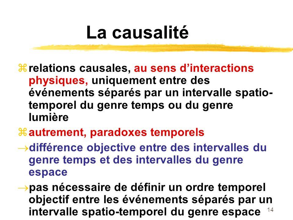 La causalité