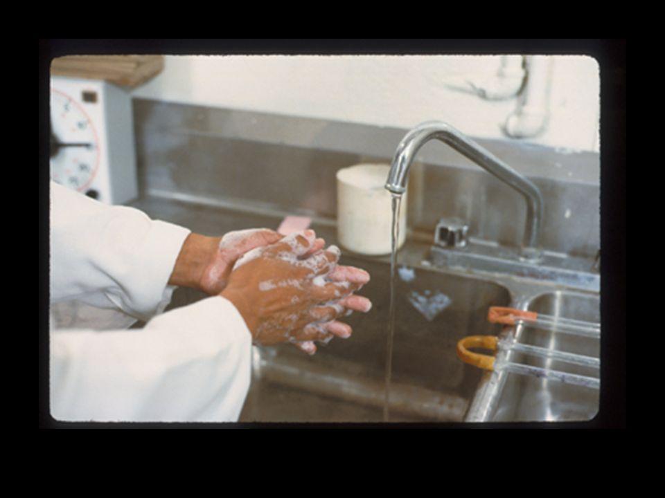 Lavez-vous toujours les mains après la