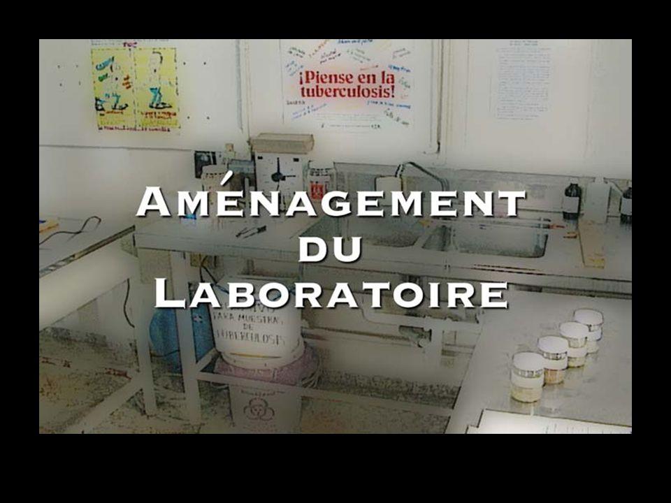 Aménagement du Laboratoire