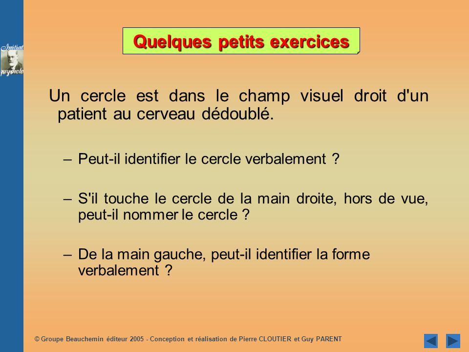 Quelques petits exercices