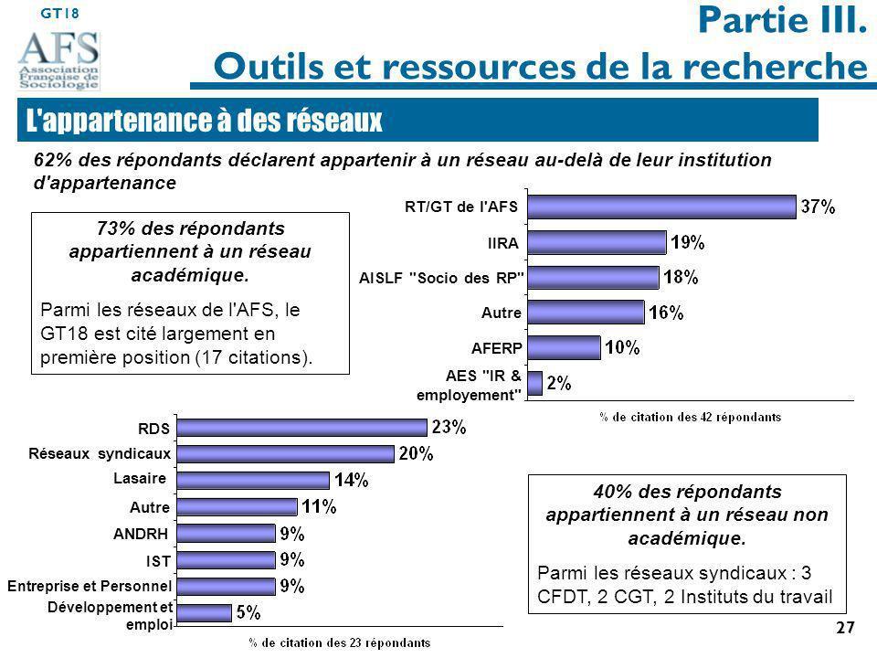 Partie III. Outils et ressources de la recherche
