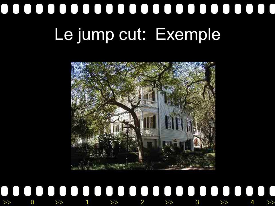 Le jump cut: Exemple