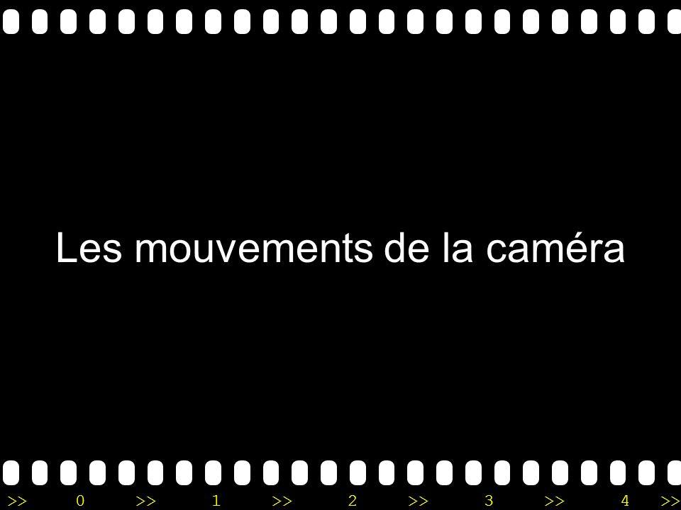 Les mouvements de la caméra