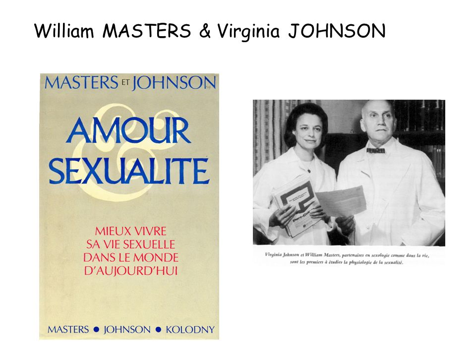 William MASTERS & Virginia JOHNSON