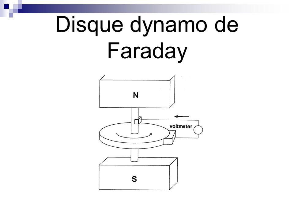 Disque dynamo de Faraday