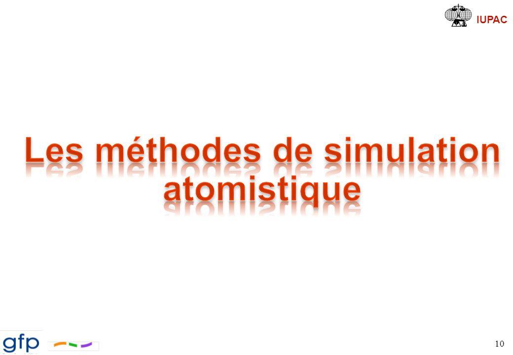 Les méthodes de simulation