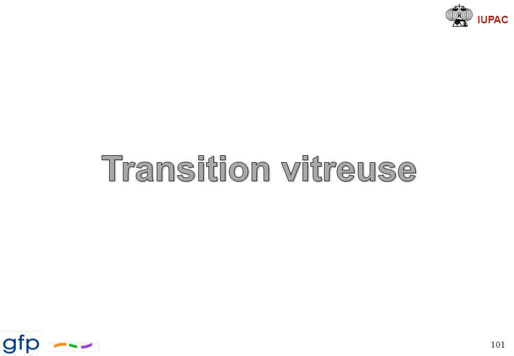 Transition vitreuse