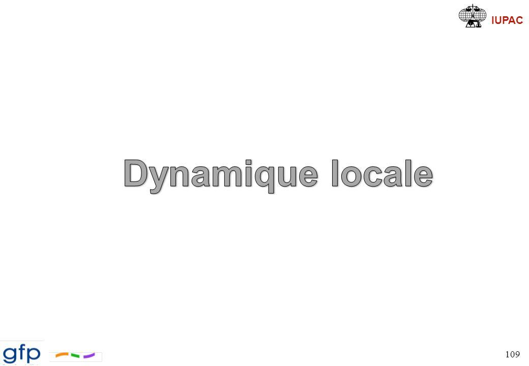 Dynamique locale