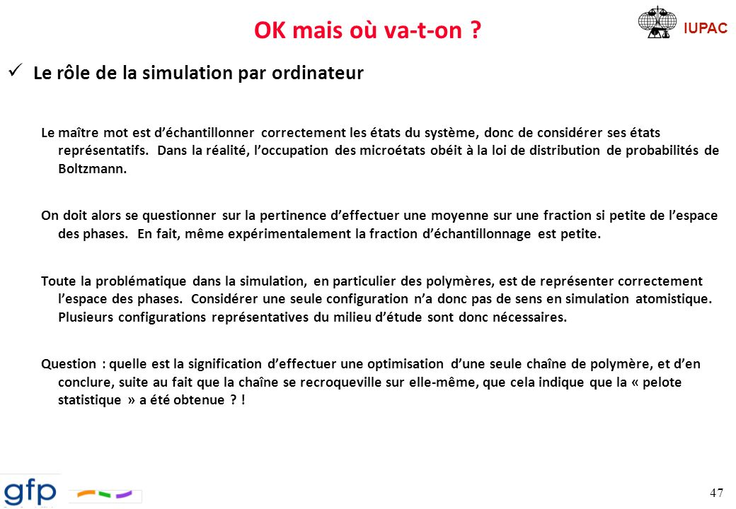 OK mais où va-t-on Le rôle de la simulation par ordinateur