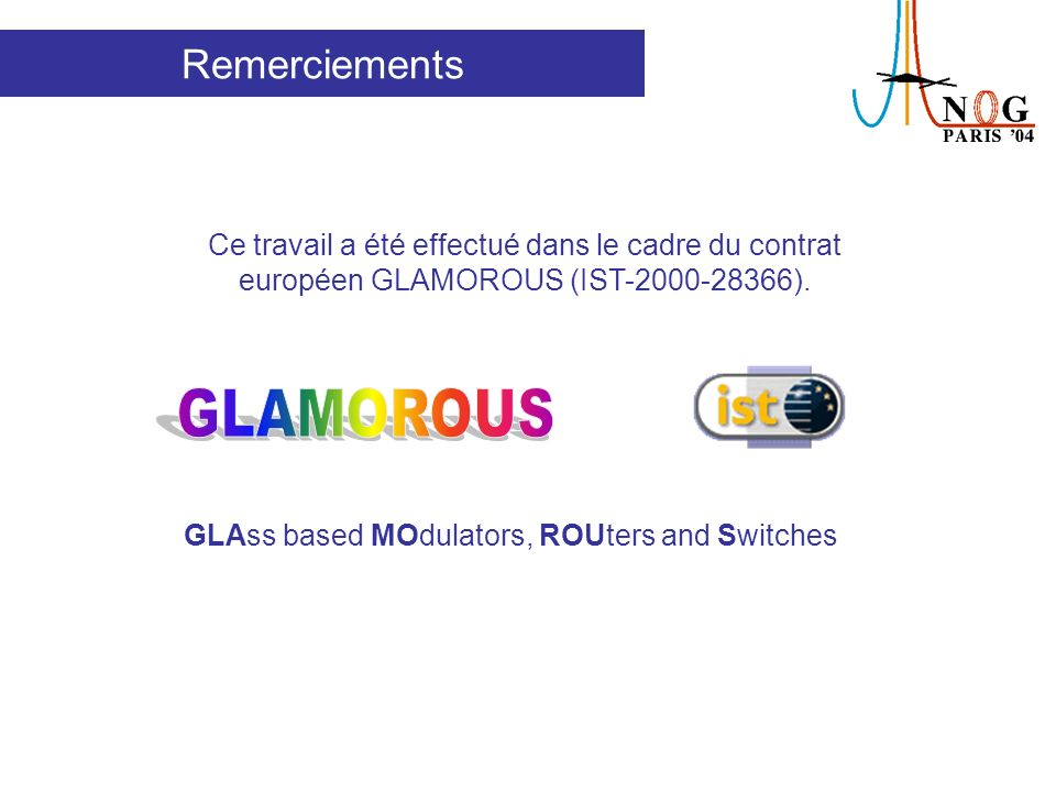 GLAss based MOdulators, ROUters and Switches