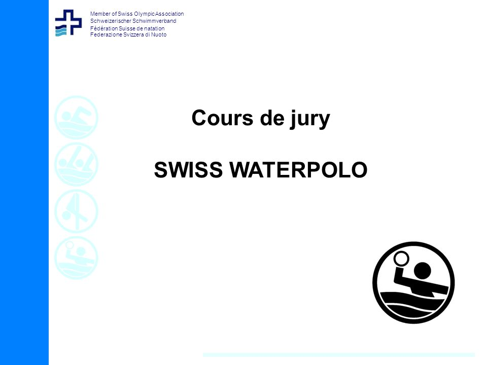 Cours de jury SWISS WATERPOLO