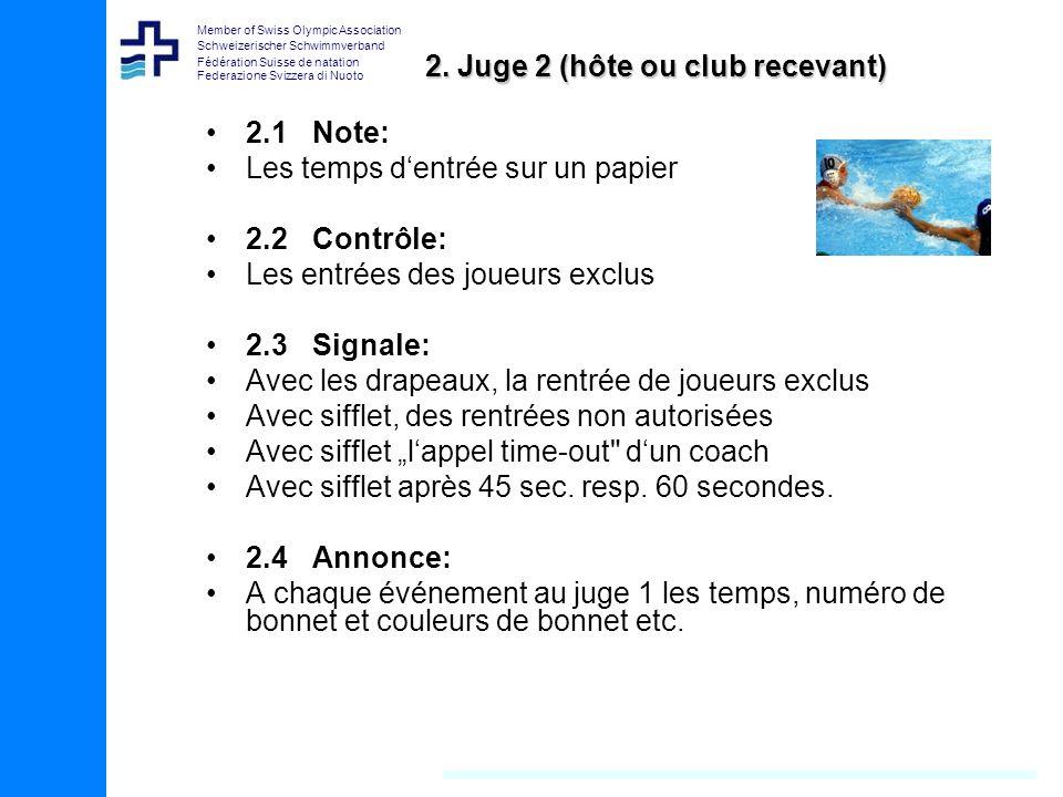 2. Juge 2 (hôte ou club recevant)