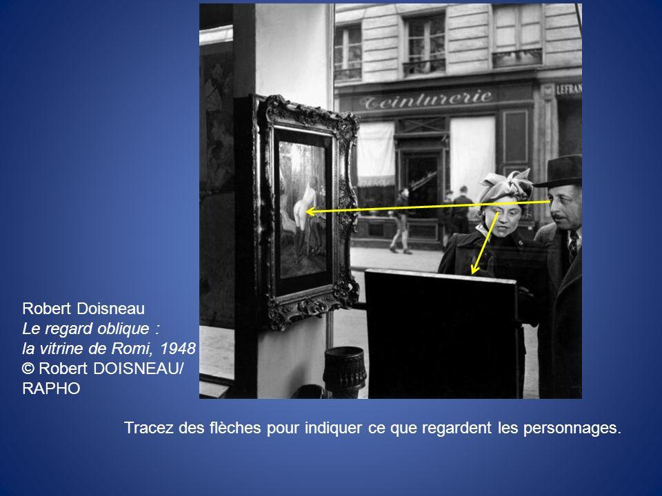 Robert Doisneau Le regard oblique : la vitrine de Romi, 1948. © Robert DOISNEAU/ RAPHO.