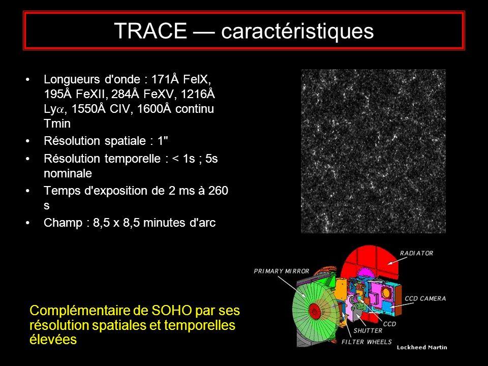TRACE — caractéristiques