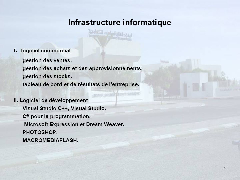 Infrastructure informatique