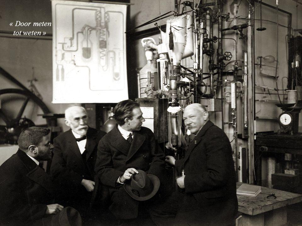 « Door meten tot weten » Ehrenfest, Lorentz, Bohr, Onnes