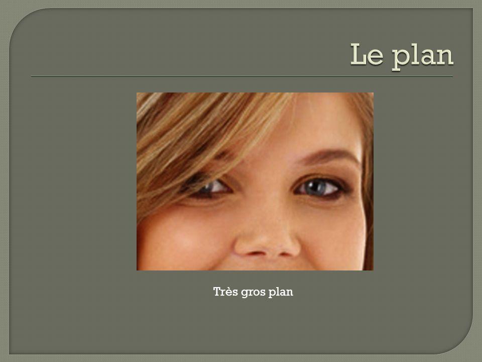 Le plan Très gros plan