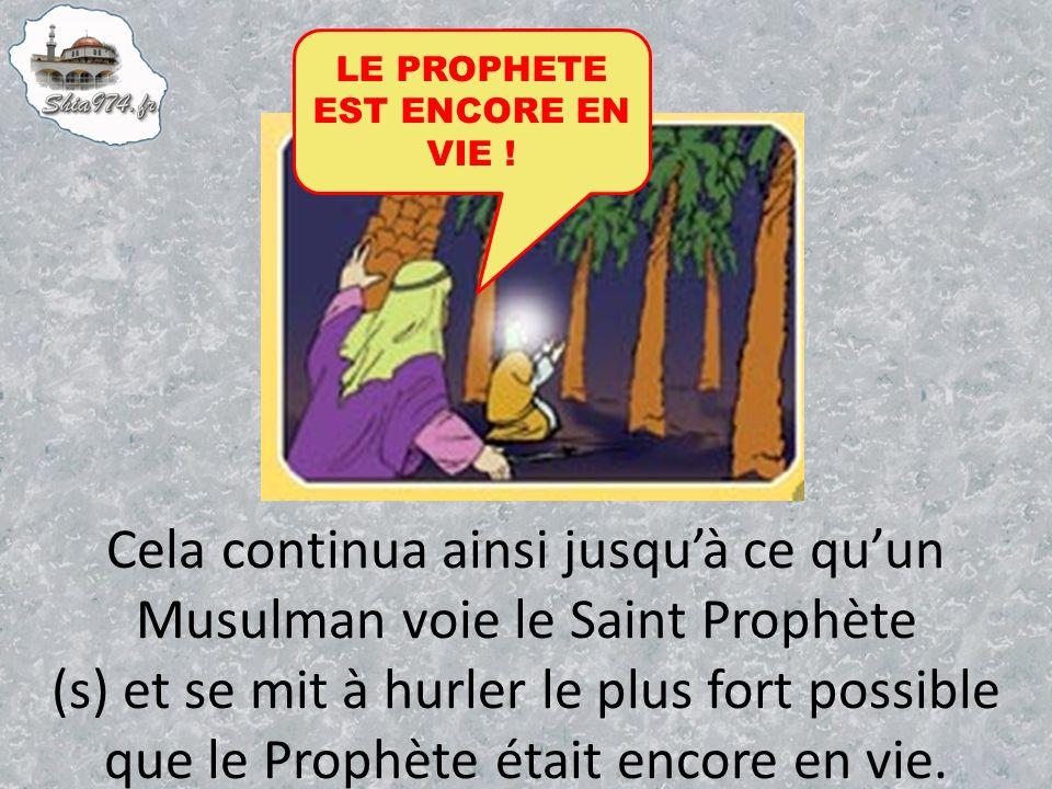 LE PROPHETE EST ENCORE EN VIE !