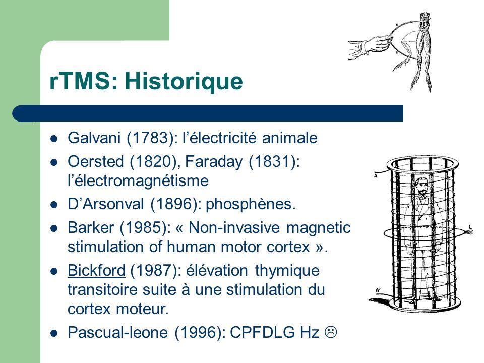 rTMS: Historique Galvani (1783): l'électricité animale