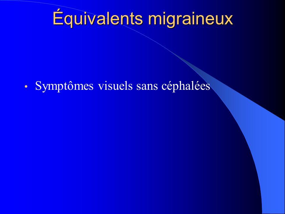Équivalents migraineux