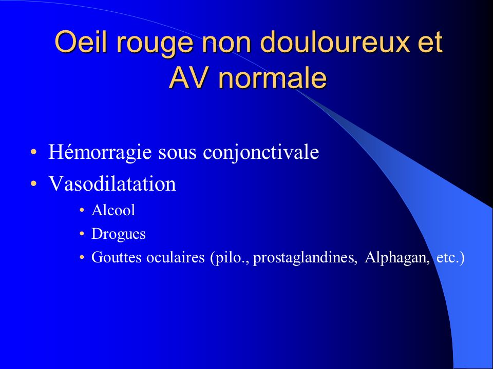 les urgences oculaires pour le m decin g n raliste ppt video online t l charger. Black Bedroom Furniture Sets. Home Design Ideas