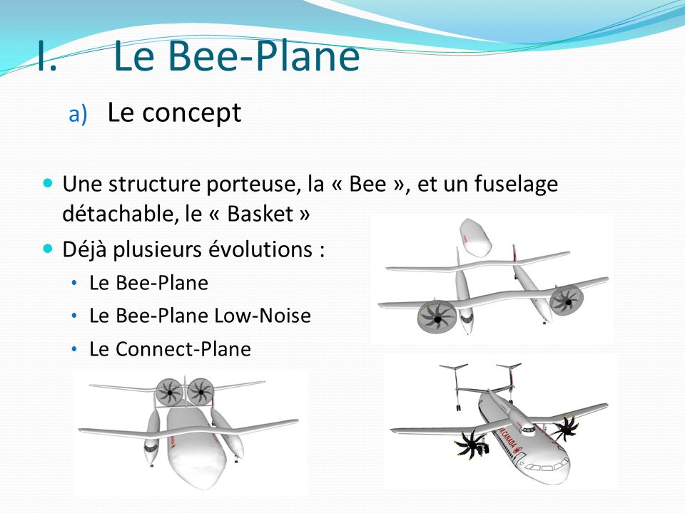Le Bee-Plane Le concept