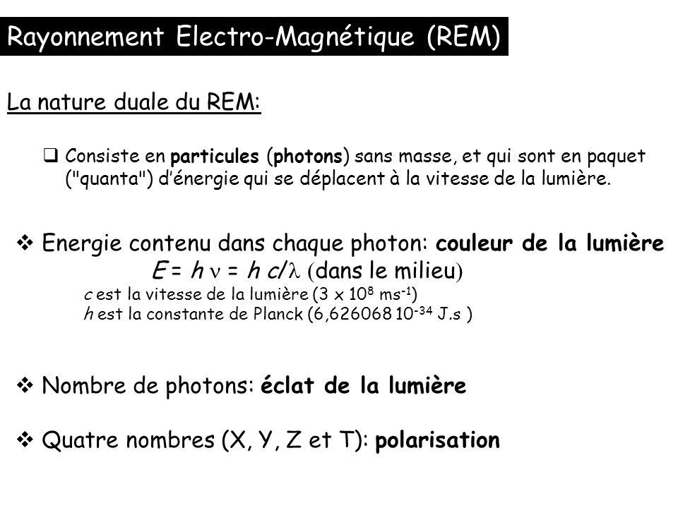 Rayonnement Electro-Magnétique (REM)