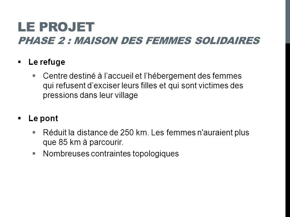 Le projet phase 2 : maison des femmes solidaires