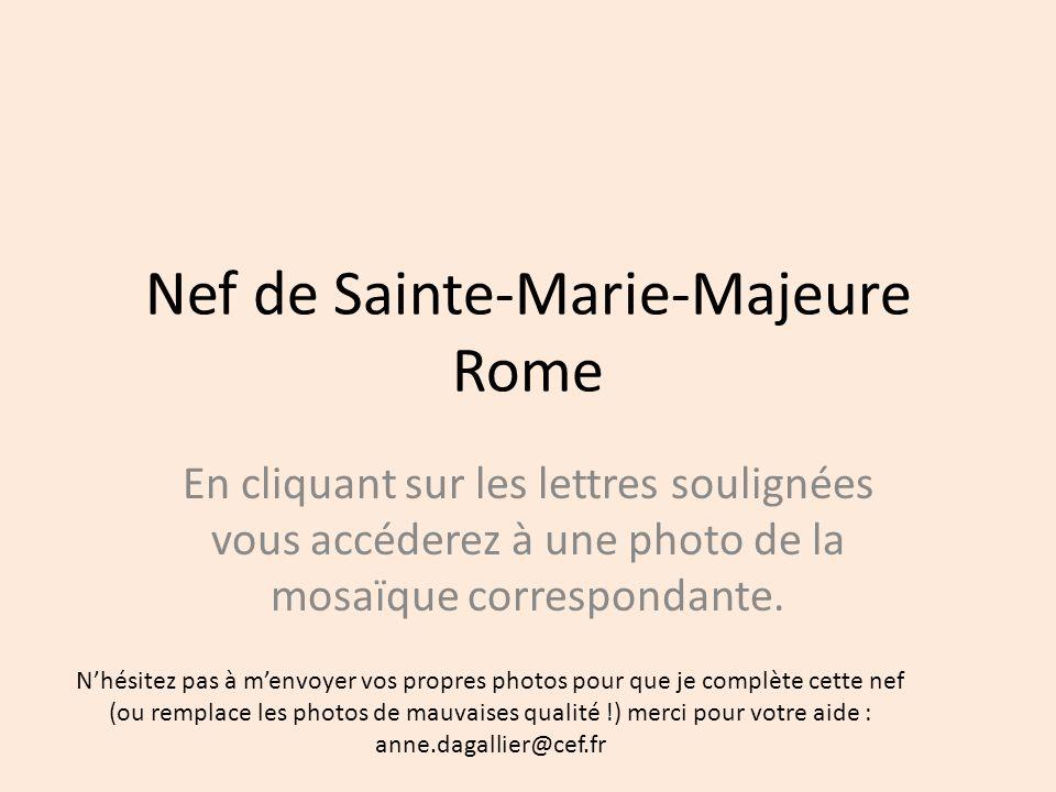 Nef de Sainte-Marie-Majeure Rome
