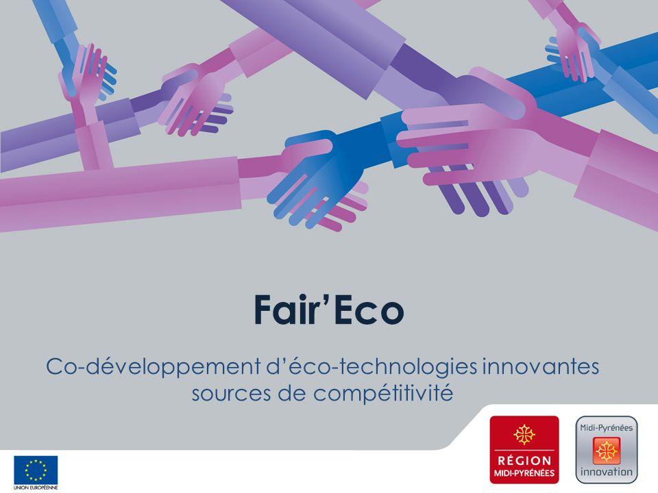 Fair'Eco Co-développement d'éco-technologies innovantes sources de compétitivité