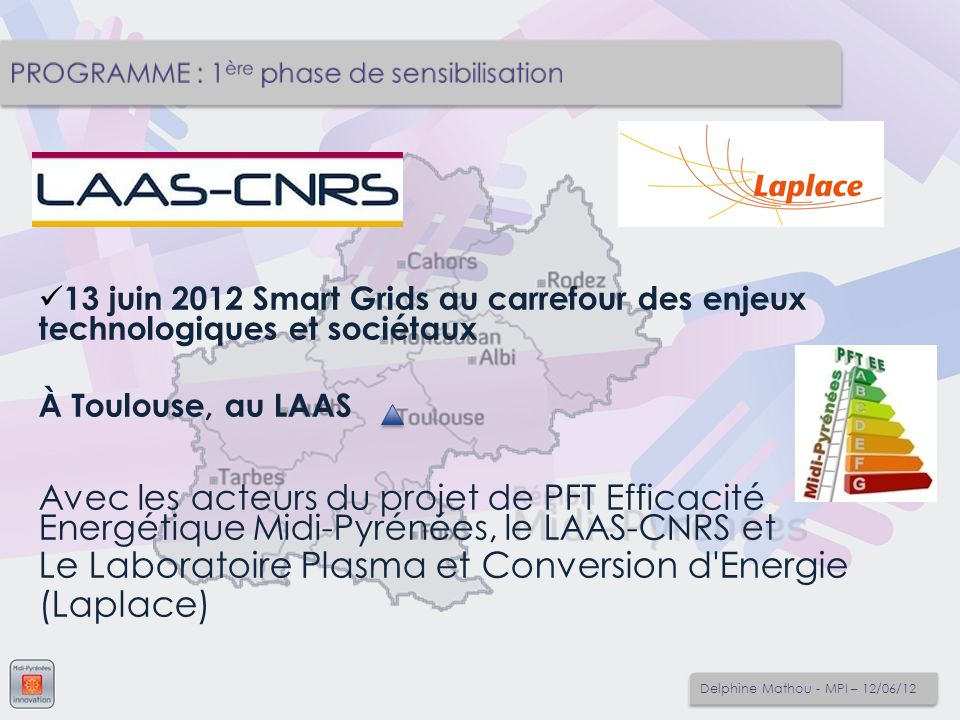 Le Laboratoire Plasma et Conversion d Energie (Laplace)