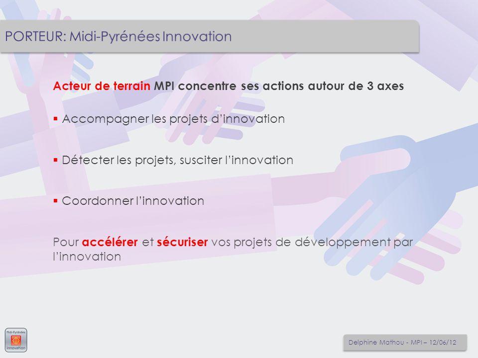 PORTEUR: Midi-Pyrénées Innovation