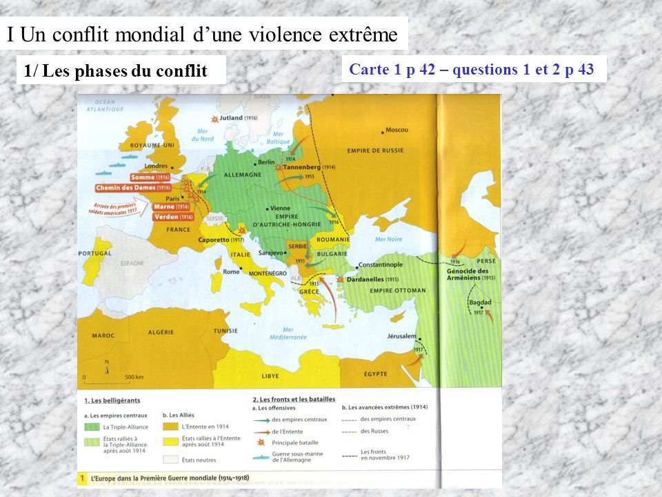 I Un conflit mondial d'une violence extrême