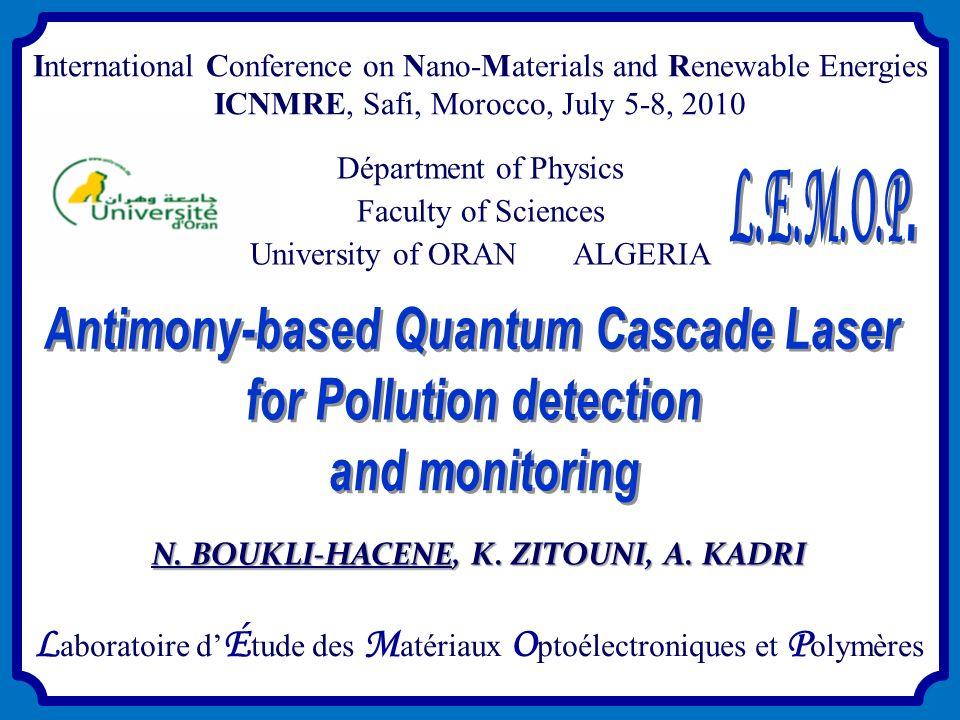 Laboratoire d'Étude des Matériaux Optoélectroniques et Polymères