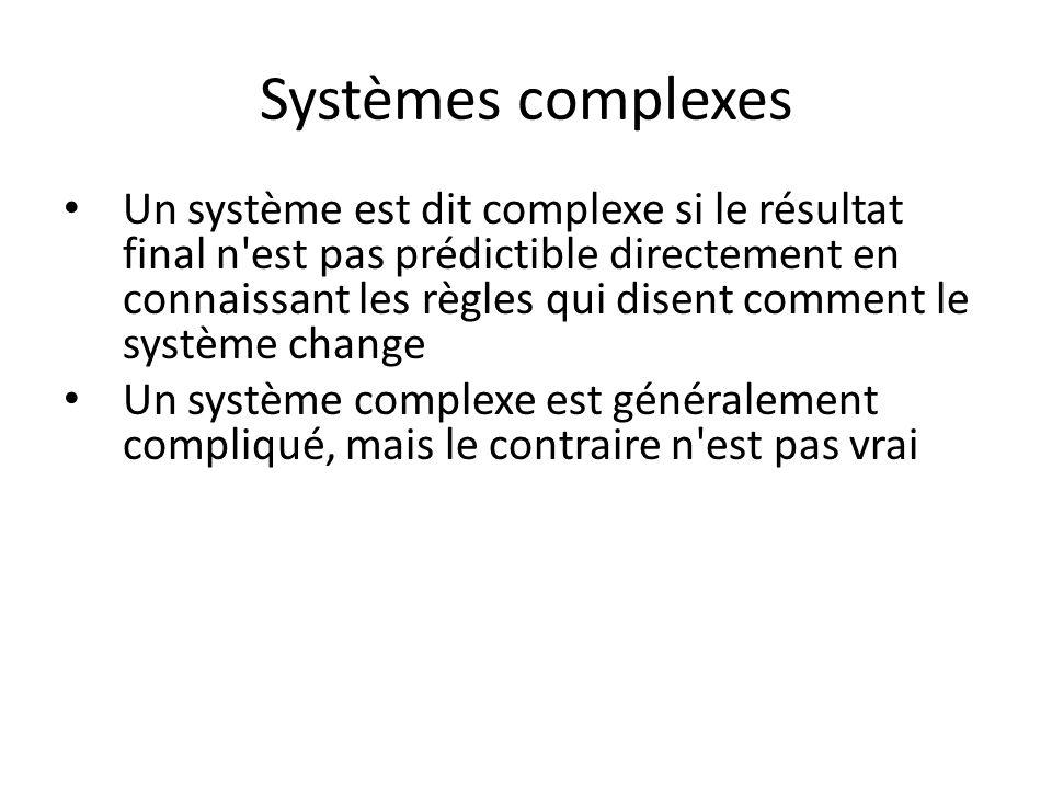 Systèmes complexes