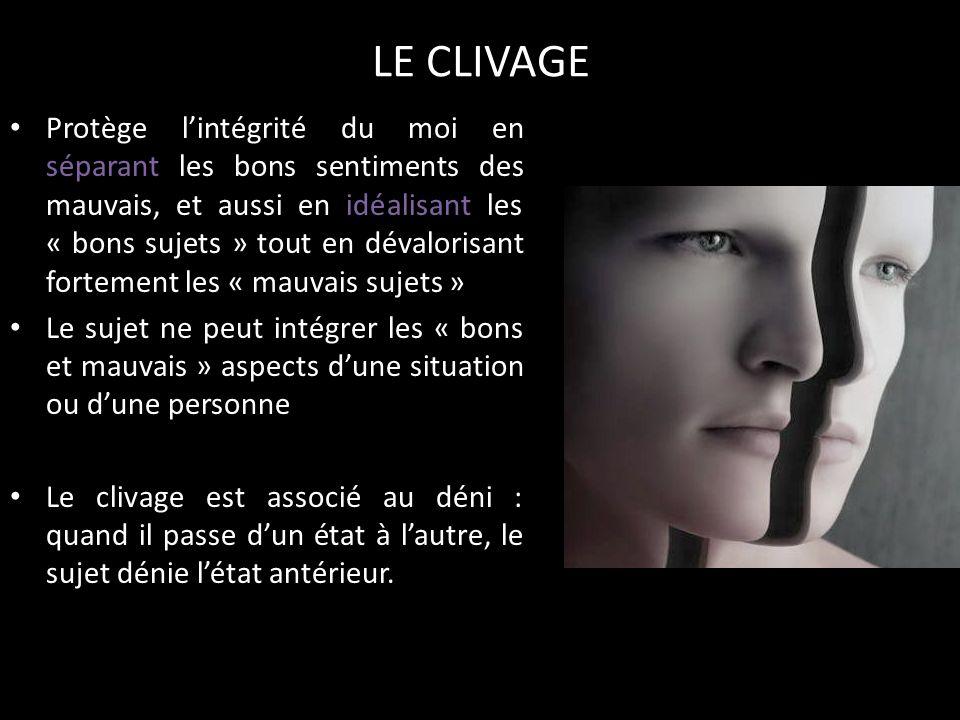 LE CLIVAGE