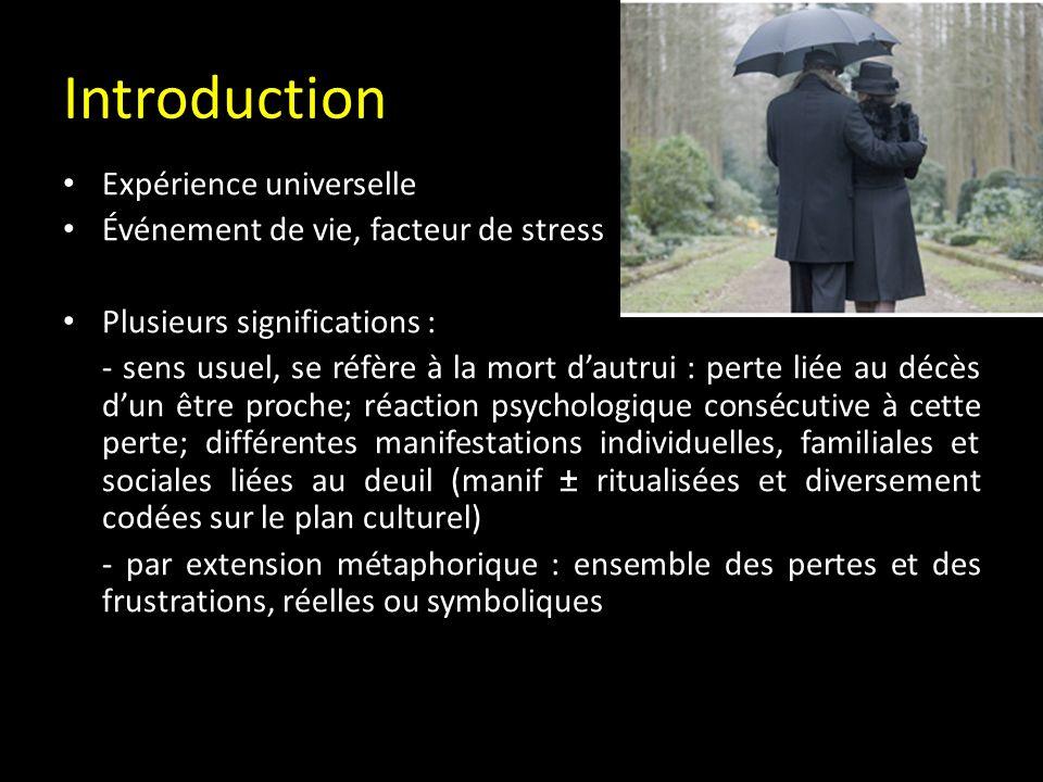 Introduction Expérience universelle