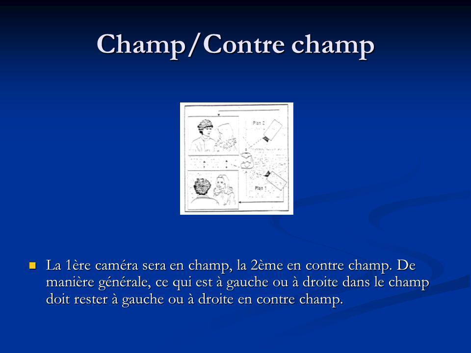 Champ/Contre champ