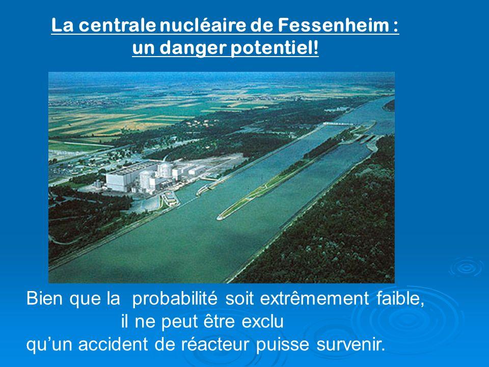 La centrale nucléaire de Fessenheim : un danger potentiel!