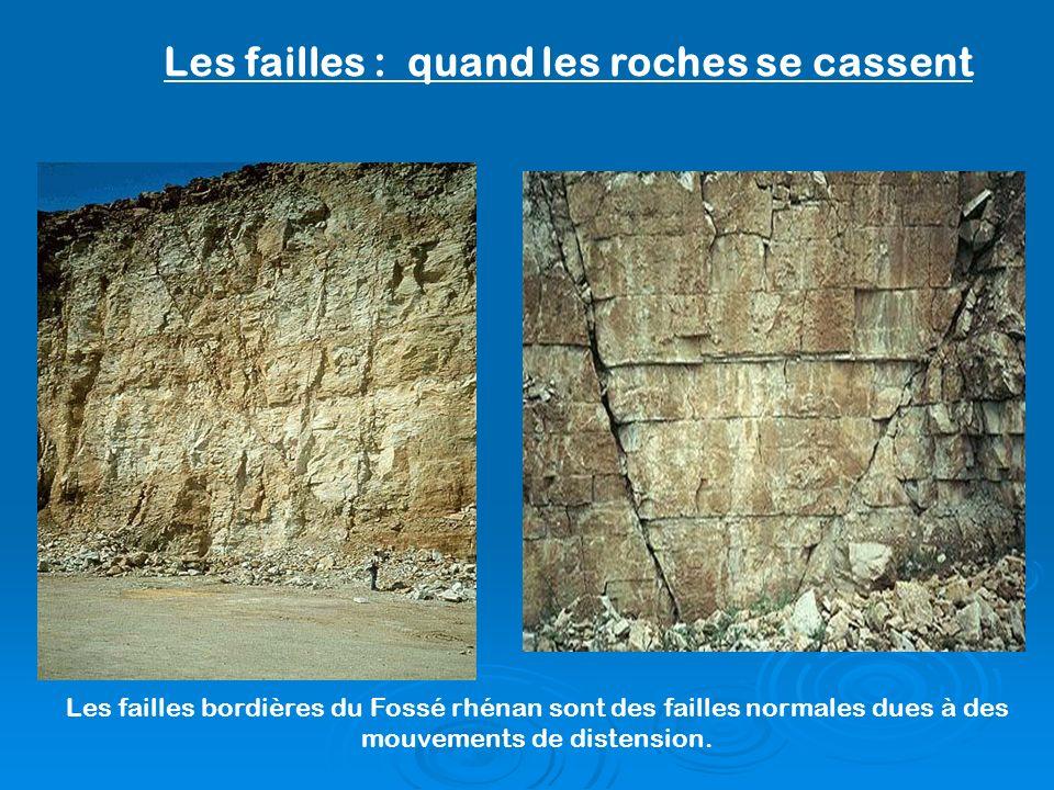 Les failles : quand les roches se cassent