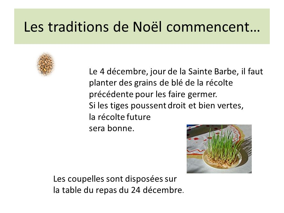Les traditions de Noël commencent…