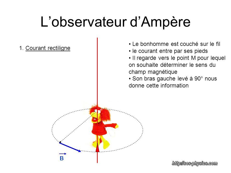 L'observateur d'Ampère