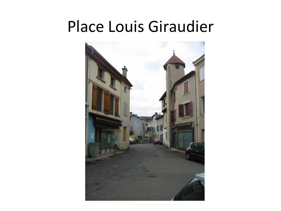 Place Louis Giraudier