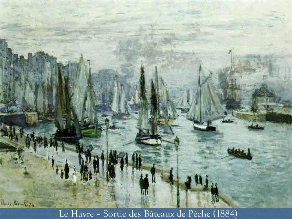 Le Havre – Sortie des Bâteaux de Pêche (1884)