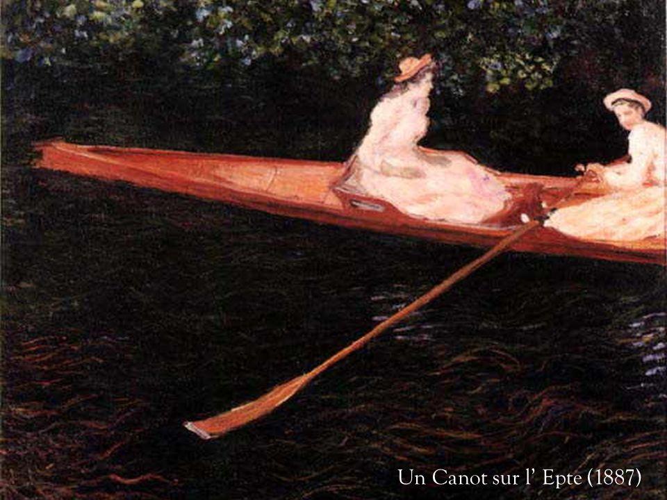 Un Canot sur l' Epte (1887)