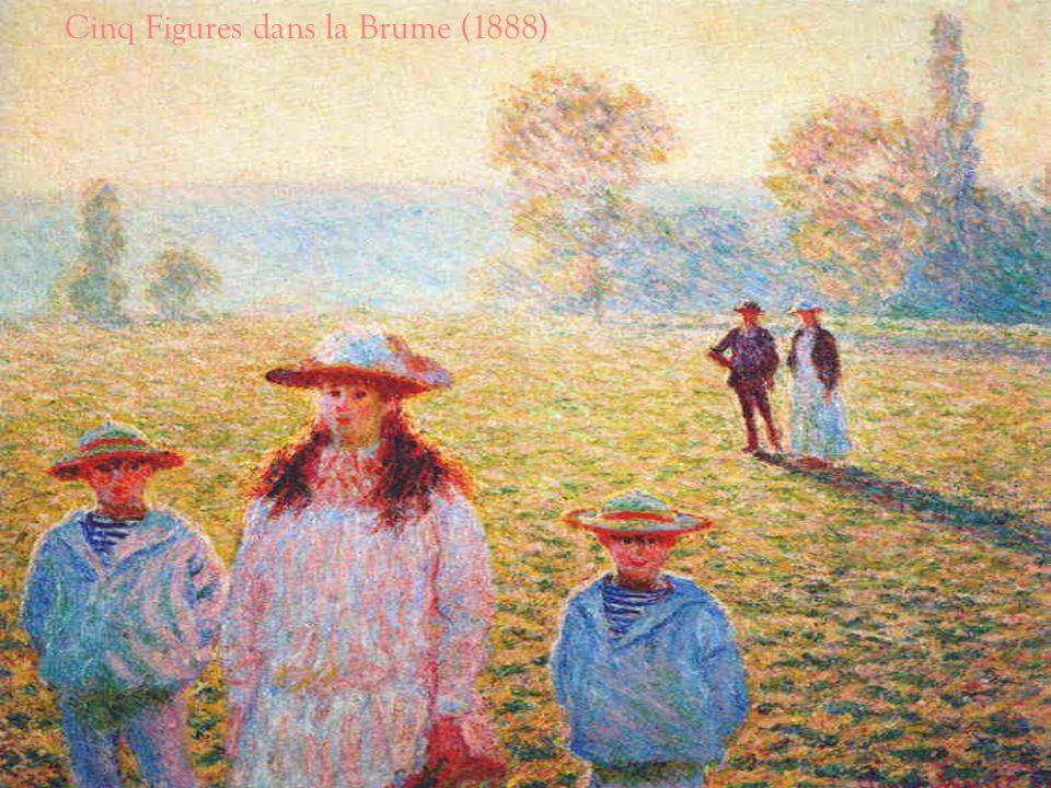 Cinq Figures dans la Brume (1888)
