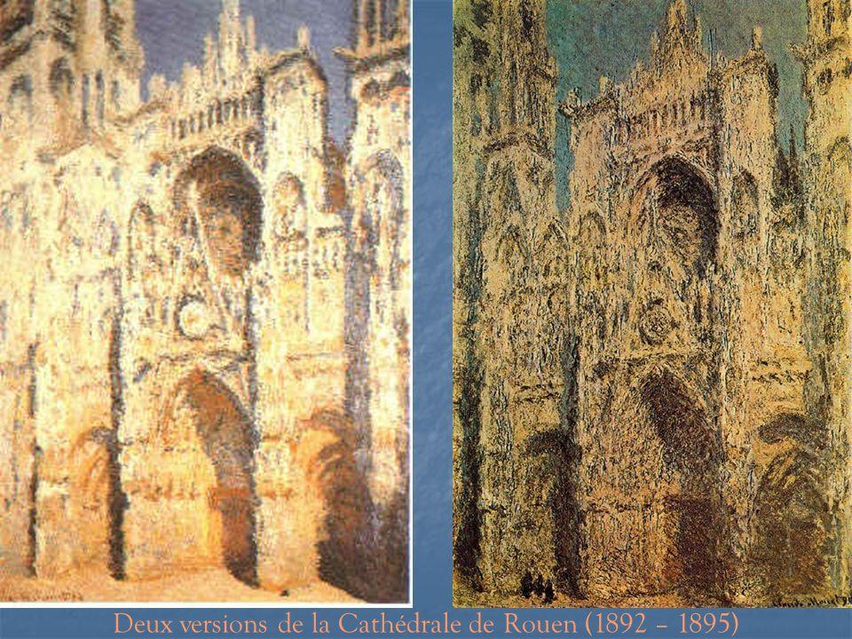 Deux versions de la Cathédrale de Rouen (1892 – 1895)